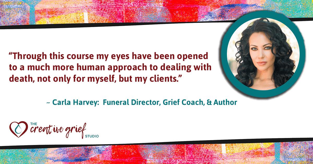Carla Harvey Online Learning Testimonial