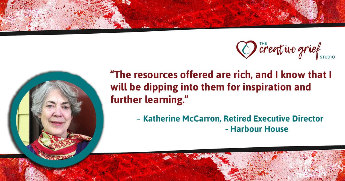 Katherine McCarron Online Learning Testimonial
