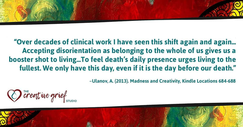 Ulanov Quote from Madness and Creativity